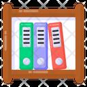 Binder Rack File Rack File Holder Icon