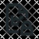Statistic Locked File Icon