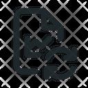 Statistic Sync File Icon