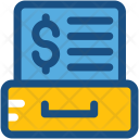 File Folders Business Icon