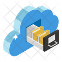 File Storage Cloud Storage Cloud Technology Icon