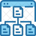 File Sharing Structure Icon