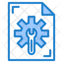 File Support Gear Icon