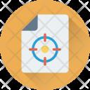 File Target Focus Icon