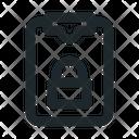 Task Locked File Icon