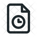 Time File Document Icon