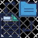 File Transfer File Transforming Files Exchange Icon