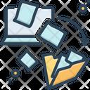 Dematerialization Integration File Transfer Icon