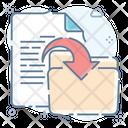 File Transfer Data Transfer Data Share Icon