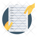 File Transfer Document Handling Papers Icon