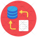 File Transfer Data Transfer File Sending Icon
