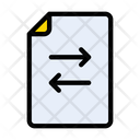 File Transfer Document Icon