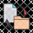 Filesharing Transfer Folder Icon