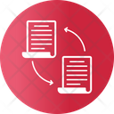File Transfer Accounting Contracts Icon