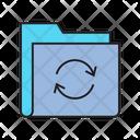 File Transfer Loading Swap Icon