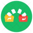 File Transfer Document Transfer Data Icon
