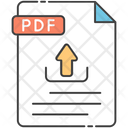 File Upload Pdf File Pdf Upload Icon