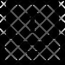 File Data Arrow Icon