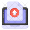 Page Uploading Data Uploading File Upload Icon