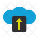 File Upload Connection Web Icon