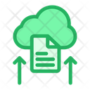 Upload File Cloud Icon