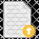 File Uploading Data Uploading Document Uploading Icon