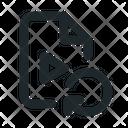Video Reload File Icon