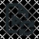 Video Sync File Icon
