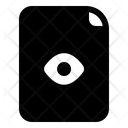 Document Eye File Icon