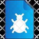 File Virus Bug Icon