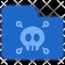 File Virus Danger Spy Icon