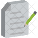 File With Pencil Edit Document Edit File Icon
