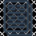 Seo Files Content Icon