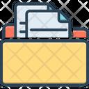 Files Dossier Record Icon