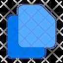 File Document Duplicate Icon