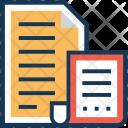Language File Content Icon