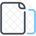 Multiple Paper File Icon