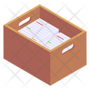 Files Drawer Office Drawer Files Box Icon