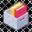 File Cabinet Folder Rack Document Holder Icon