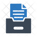 Files Archive Drawer Icon