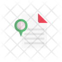 Document Files Map Icon