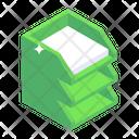Files Rack Folder Rack Document Holder Icon