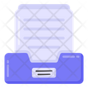 Documents Rack Files Rack File Cabinet Icon