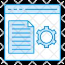 Files setting Icon