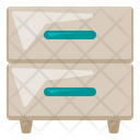 Filing Cabinet Office Icon