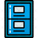 Filing Cabinet Files Data Icon