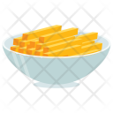 Filipino Lumpia Snack Icon