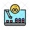 Filling Pharmaceutical Production Icon