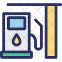 Filling Pump Filling Station Fuel Station Icon