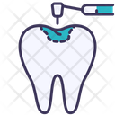 Filling Tooth Equipment Icon